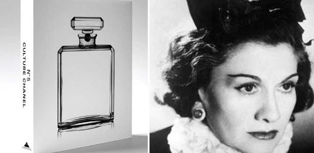 """Livro """"Chanel Nº5 Chanel"""" e Coco, criadora da fragrância - Divulgação"""