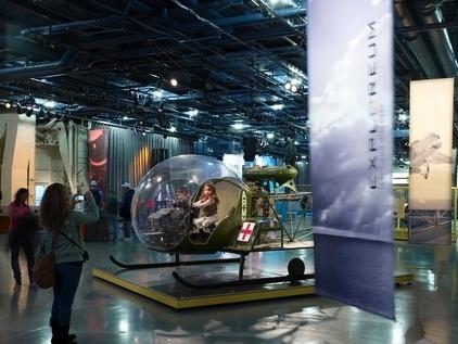 O Intrepid Museum possui uma interessante coleção de construções navais e aéreas como aviões de combate utilizados na Segunda Guerra Mundial