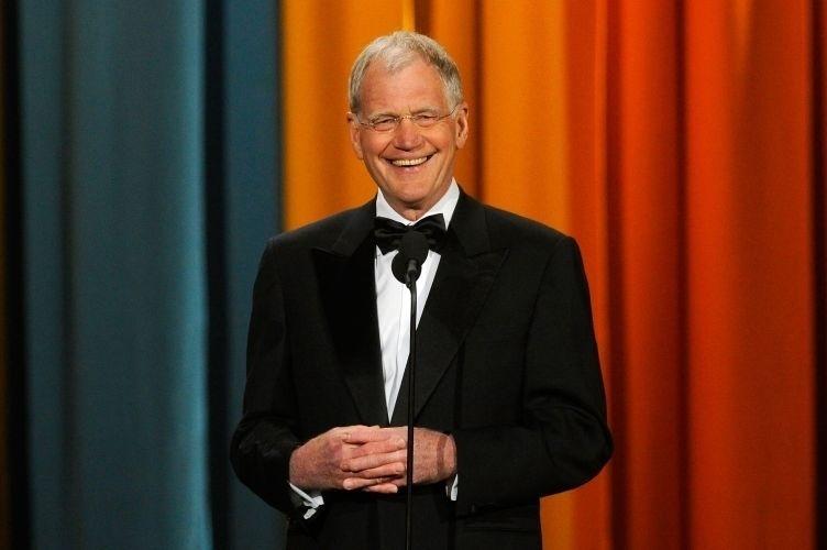 O apresentador David Letterman