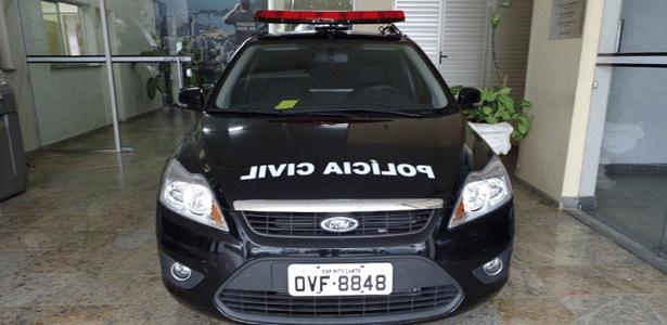 Dois suspeitos foram presos pela Polícia Civil após troca de tiros em Cariacica - Divulgação