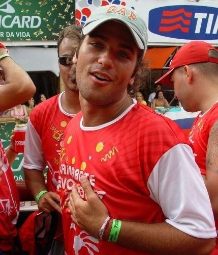Gagliasso desfila no bloco da Banda Eva no Carnaval da Bahia, em Salvador (8/2/05)