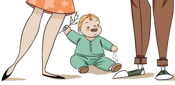 Passear com um bebê envolve um número infindável de artigos supostamente para garantir seu bem-estar