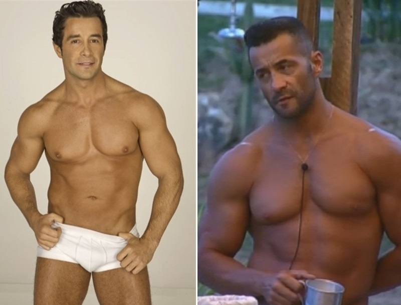 Marcos Oliver sempre foi musculoso