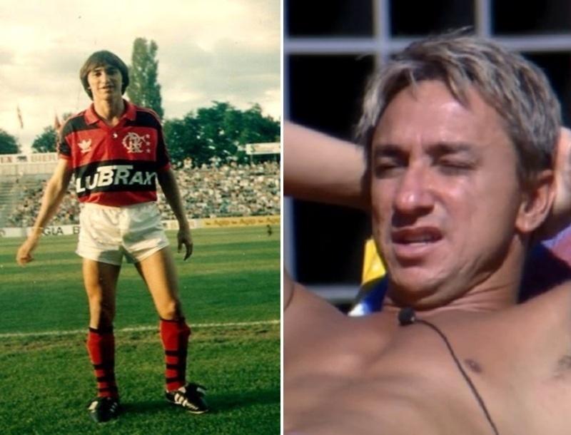 Paulo Nunes tinha um visual bastante diferente no início da sua carreira de jogador