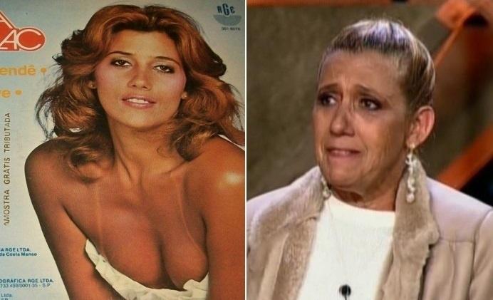 Rita Cadillac mudou bastante do tempo em que era chacrete
