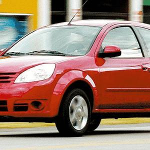 Ford Ka reestilização 2002 - Divulgação