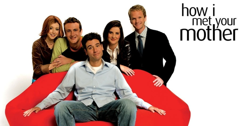 "Imagem do elenco de ""How I Met Your Mother"""