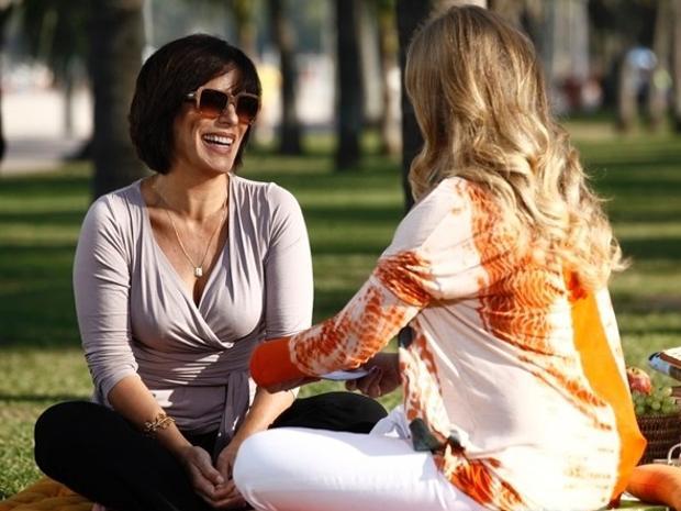 22.ago.2013- Gloria Pires conta o segredo de um casamento feliz ao