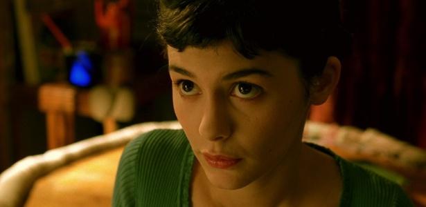 """A atriz Audrey Tautou em cena de """"O Fabuloso Destino de Amélie Poulain""""  - Reprodução"""