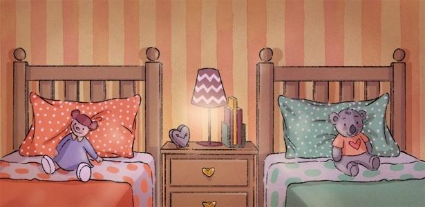 Acredito que o fato de dormir no mesmo quarto traz diversos benefícios para os irmãos