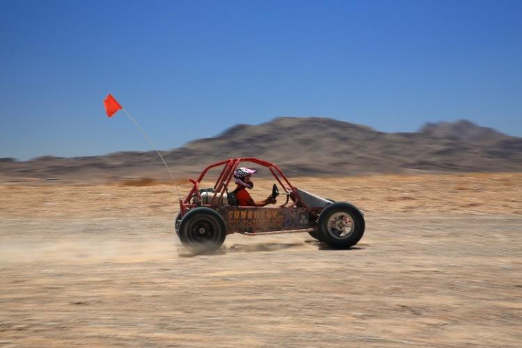 Vista do Vegas Mini Baja Chase, uma das opções de passeios nos arredores de Las Vegas