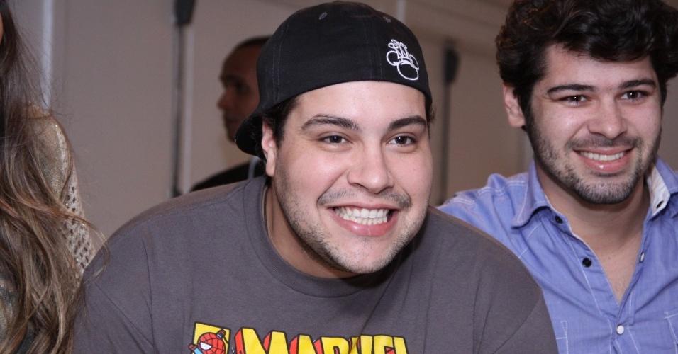 23.ago.2013 - Tiago Abravanel no show de Thiaguinho no Citibank Hall, na Barra da Tijuca, Rio de Janeiro