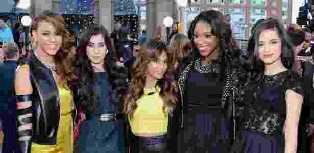 Dinah Jane Hansen, Lauren Jauregui, Ally Brooke, Normani Kordei e Camila Cabello, do Fifth Harmony - Larry Busacca/Getty Imagens