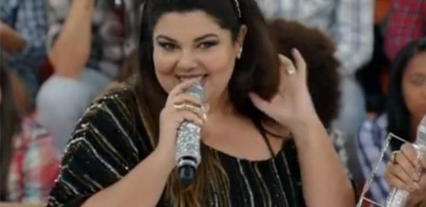 "Fabiana Karla no ""Esquenta!"""