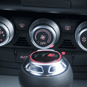 Audi TTRS, ar-condicionado manual - Eduardo Anizelli/Folhapress
