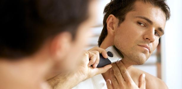 Levar em consideração suas preferências de acabamento e estilo de barbear é fundamental ao escolher um barbeador elétrico - Thinkstock