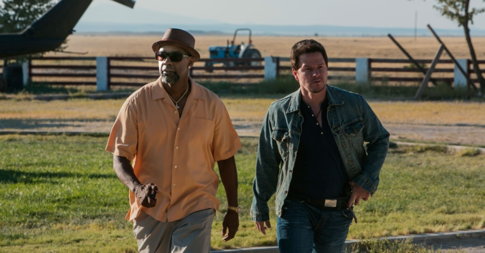 "Cena do filme ""Dose Dupla"", de Baltasar Kormákur, estrelado por Denzel Washington e Mark Wahlberg"