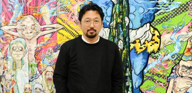 Designer  Takashi Murakami fecha parceria com a marca de maquiagem Shu Uemura - Getty Images