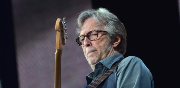 O cantor e guitarrista Eric Clapton lança novo disco nesta sexta-feira - Getty Images