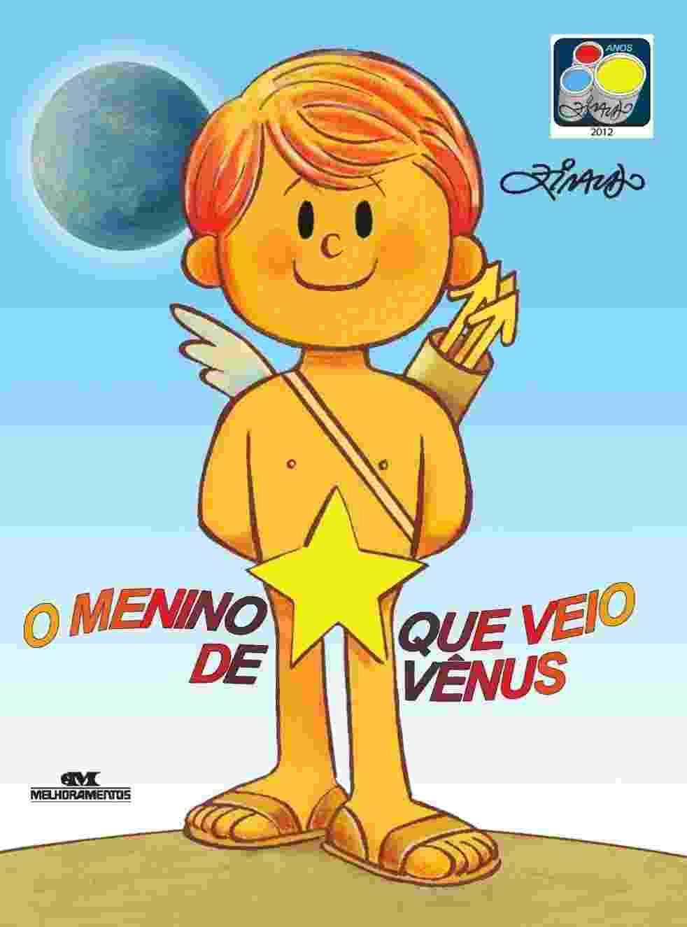 """Capa do livro """"O Menino que Veio de Vênus"""", de Ziraldo - Divulgação"""