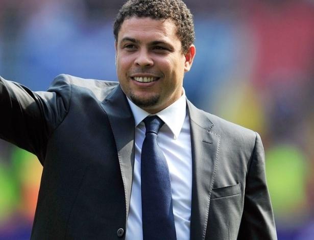 Ronaldo como comentarista da Globo