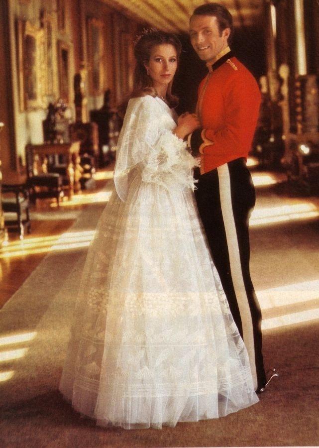 Vestido de casamento da década de 1970