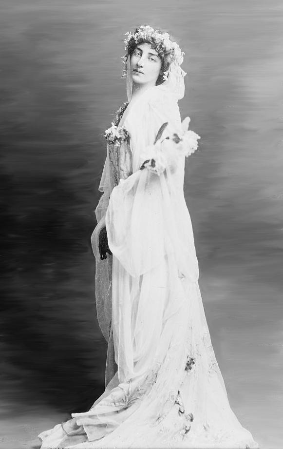 Vestido de noiva da década de 1910