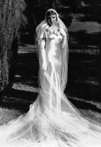 Vestido de noiva da década de 30