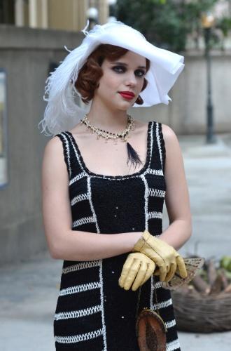 """2012 - Bruna Linzmeyer interpretou a dançarina Anabela no bordel Bataclã, do remake da novela """"Gabriela"""""""
