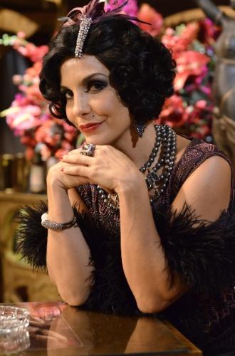 """2012 - No remake """"Gabriela"""", Maria Machadão foi interpretada pela cantora Ivete Sangalo. Ela era dona da boate Bataclã, onde os homens de Ilhéus iam para se divertir"""