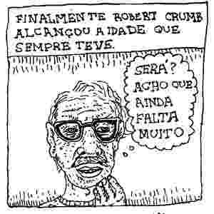 Arnaldo Branco faz homenagem a Robert Crumb - Arnaldo Branco/UOL