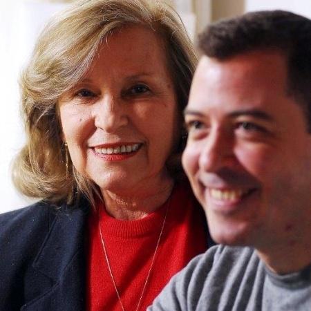 Edith Modesto e o filho, Marcello - Arquivo pessoal