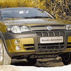 Fiat Strada Adventure 1.8 em 2004 - Divulgação