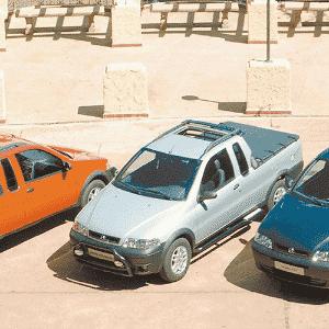 Fiat Strada em 2001 - Divulgação
