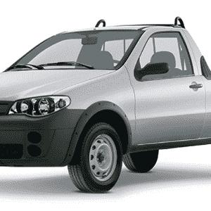 Fiat Strada Fire 2012 - Divulgação