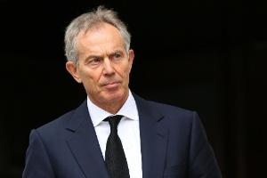 O ex-primeiro-ministro britânico Tony Blair