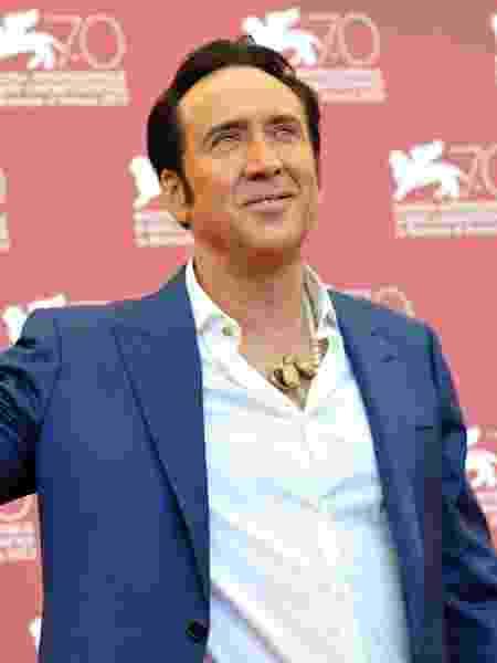 O ator Nicolas Cage - Tiziana Fabi/AFP
