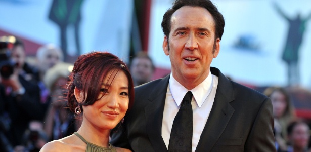 Alice Kim e Nicolas Cage estão separados - Tiziana Fabi / AFP Photo