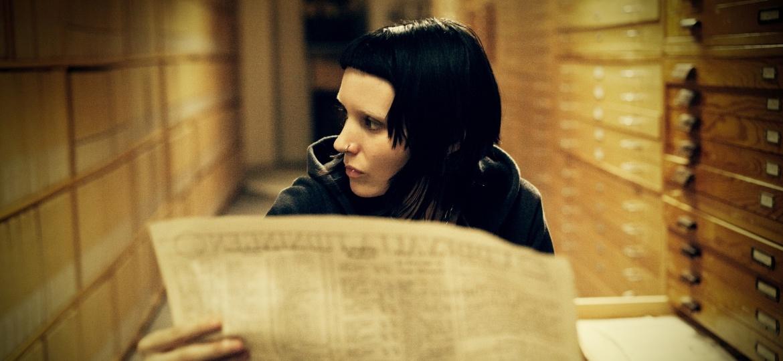 """Rooney Mara vive a hacker Lisbeth Salander em """"Millenium: Os Homens Que Não Amavam as Mulheres"""" - Reprodução"""