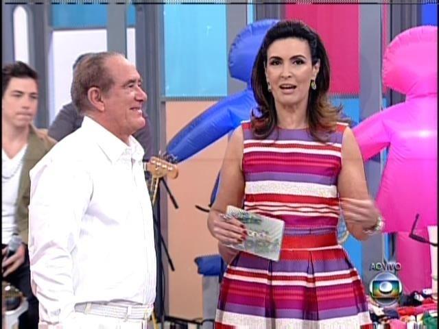 31.ago.2013 - Renato Aragão no programa