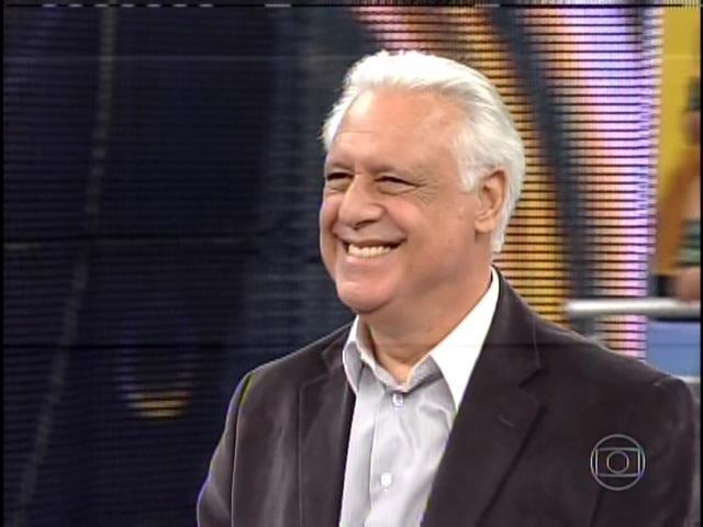 1.set.2013 - Antônio Fagundes participou do