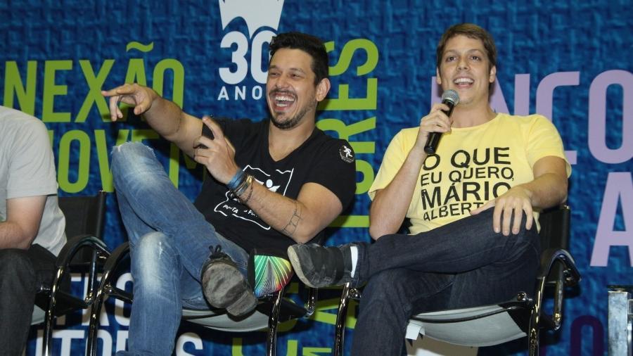 João Vicente Castro e Fábio Porchat  - Graça Paes/Foto Rio News