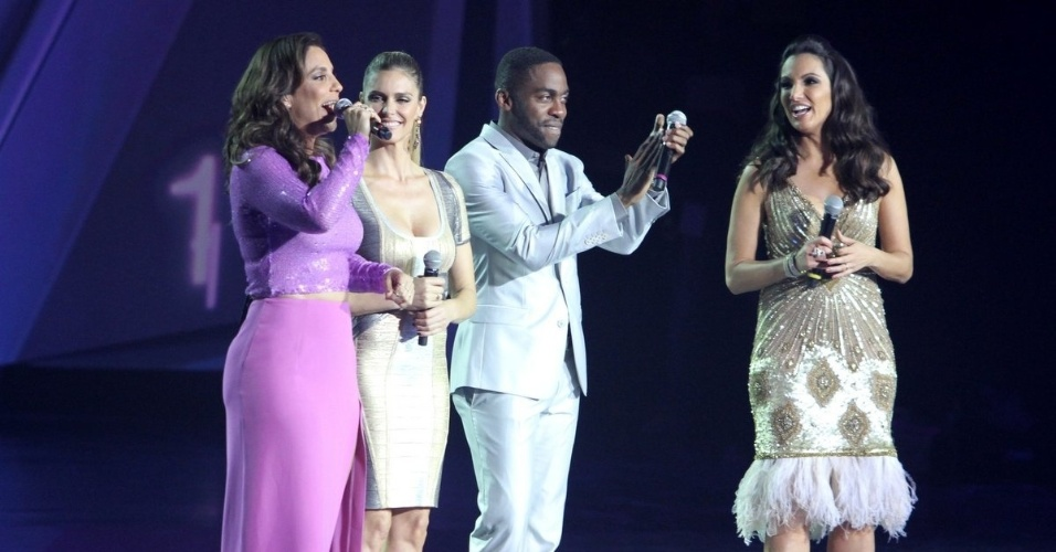 """31.ago.2013 - Ivete Sangalo foi uma das atrações do evento """"Criança Esperança"""""""