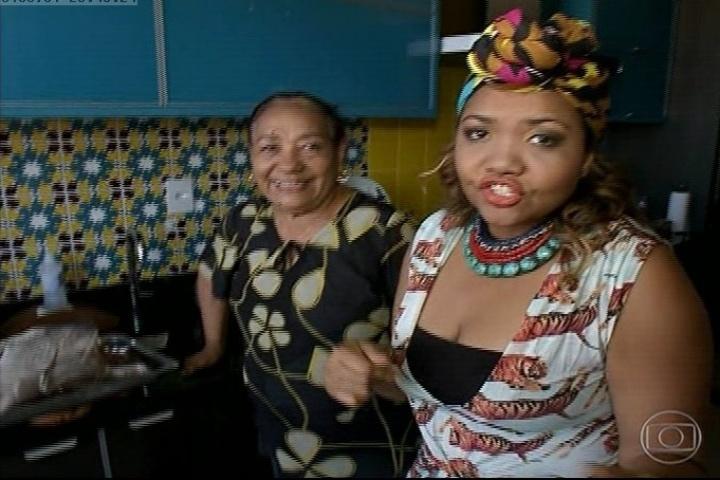 Com a mãe na cozinha, Gaby Amarantos diz que será difícil fazer dieta