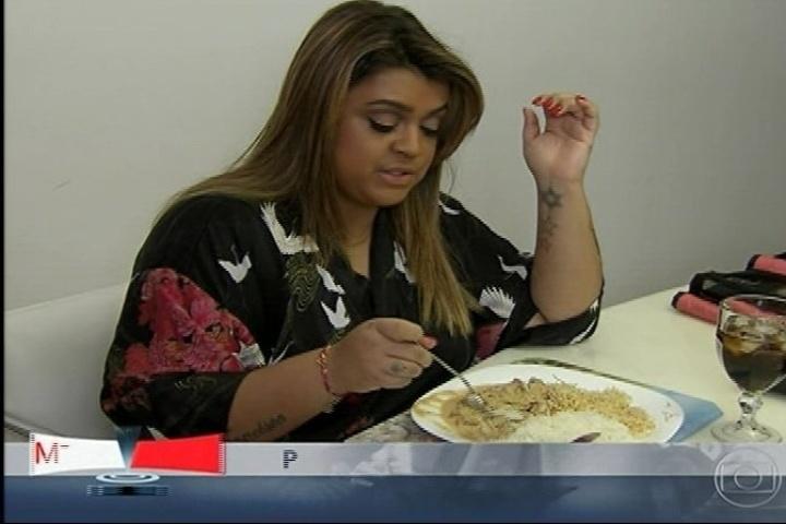 No programa, Preta Gil conta que seu prato preferido é estrogonofe
