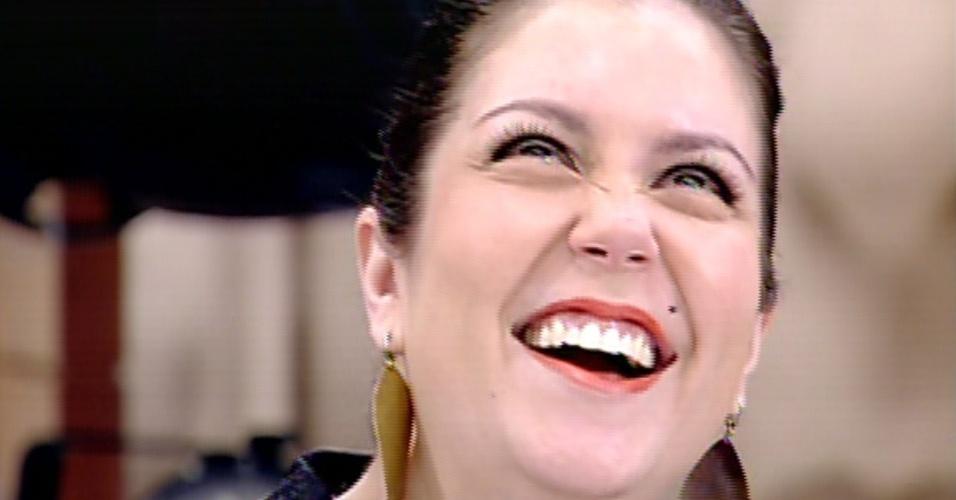 """2.set.2013 - Na final do """"Super Chef Celebridades"""" 2013, a chef e jurada Ludmilla Soeiro recebe notas por refeição avaliada pelos famosos"""