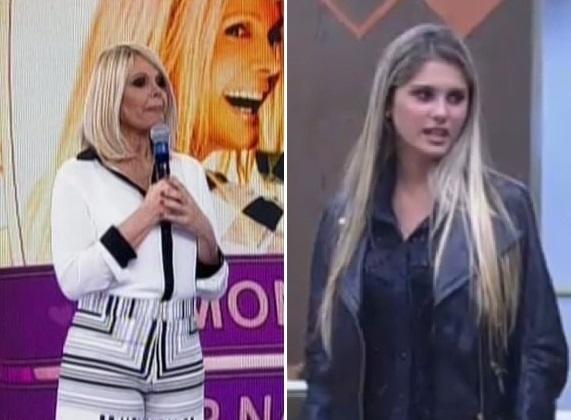 Monique Evans participa do programa Melhor do Brasil enquanto Bárbara está na fazenda
