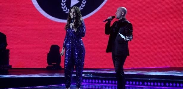 3.set.2013 - Ivete Sangalo e Paulo Gustavo apresentam a 20ª edição do Prêmio Multishow