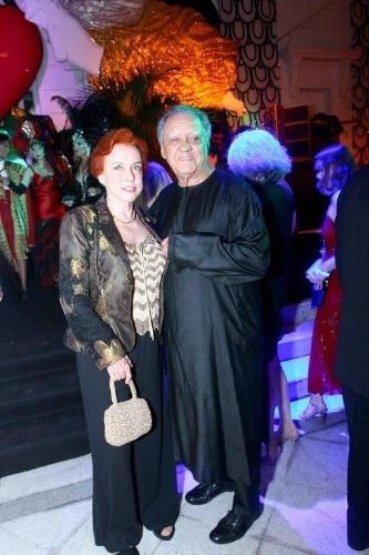 Os empresários Luiz Carlos Barreto e Lucy Barreto prestigiam evento no Copacabana Palace