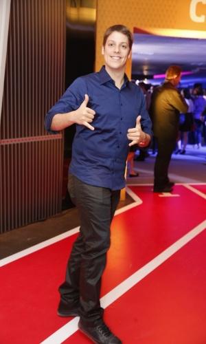 3.set.2013 - Fábio Porchat na festa do Prêmio Multishow 2013 no HSBC Arena na Barra da Tijuca, Rio de Janeiro